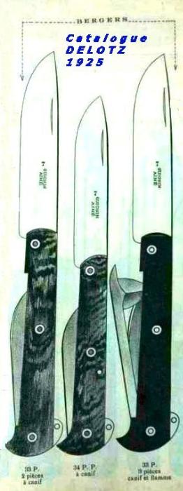 le couteau le berger